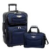 <strong>Traveler's Choice</strong> Amsterdam 2 Piece Carry-On Luggage Set