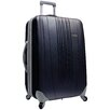 "<strong>Traveler's Choice</strong> Toronto 21"" Expandable Hardside Spinner Luggage in Black"