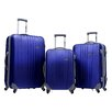 <strong>Traveler's Choice</strong> Toronto 3 Piece Hardsided Spinner Luggage Set