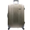 "Traveler's Choice Toronto 29"" Expandable Hardside Spinner Luggage in Gold"