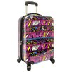 "<strong>Traveler's Choice</strong> Bohemian 21"" Hardside Carry-On Spinner Luggage"