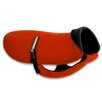 Original Dog Coat in Red with Black Fleece and Black Belt