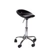 Martin Universal Design Height Adjustable Contour Stool with Casters