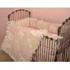 Heaven Sent Girl 4 Piece Crib Bedding Set