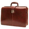 Tony Perotti Italico Beneven Triple Gusset Lawyer's Leather Laptop Briefcase