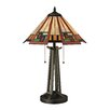 "Dimond Lighting Carris 17"" H Table Lamp with Empire Shade"