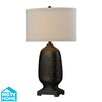 "Dimond Lighting HGTV Home Modern Heritage 31"" H Table Lamp with Drum Shade"