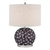 "Dimond Lighting Bejewelled 20"" H Table Lamp with Drum Shade"