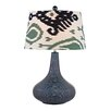 "Dimond Lighting Textured 26"" H Table Lamp with Empire Shade"