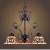 Dimond Lighting Tiffany Buckingham 3 Light Mini Chandelier