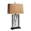"<strong>Legacies Belvior Park 33"" H Table Lamp with Rectangle Shade</strong> by Dimond Lighting"