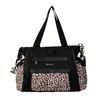 Kalencom Black / Safari Cheetah Shoulder Bag