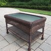 <strong>Resin Wicker Rectangle Coffee Table</strong> by Oakland Living