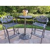 <strong>Oakland Living</strong> Tulip 3 Piece Bar Height Dining Set