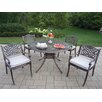 Capitol Mississippi Dining Set with Cushions