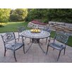 Oakland Living Sunray Hummingbird Dining Set