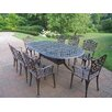 <strong>Oakland Living</strong> Mississippi 9 Piece Dining Set