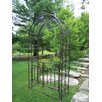 Oakland Living Arbor with Gate and Base
