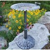 <strong>Oakland Living</strong> Sunflower Butterfly Bird Bath