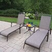 <strong>Cascade 3 Piece Lounge Seating Set</strong> by Oakland Living