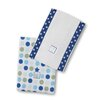 <strong>Swaddle Designs</strong> Baby Burpies® in Star with Multi Dots (Set of 2)