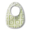 Terry Velour Bitty Bib with Pastel Mod Squares