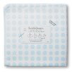 Swaddle Designs Organic Ultimate Receiving Blanket® in Pastel Dots and Stars with Pastel Trim