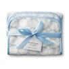 <strong>Swaddle Designs</strong> Certified Organic Cotton Baby Burpie in Pastel with Mod Circles on Ivory (Set of 2)