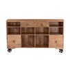 Yosemite Home Decor Trolley Console Table