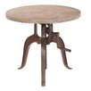 <strong>Yosemite Home Decor</strong> Adjustable Height Pub Table
