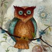 Yosemite Home Decor Revealed Artwork Owl I Original Painting on Canvas