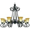 <strong>Yosemite Home Decor</strong> El Capitan 8 Light Chandelier
