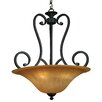 <strong>Yosemite Home Decor</strong> Florence 4 Light Foyer Inverted Pendant