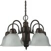 <strong>Yosemite Home Decor</strong> Manzanita 5 Light Chandelier