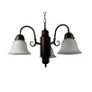 <strong>Yosemite Home Decor</strong> Manzanita 3 Light  Chandelier