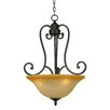 Royal Arches 3 Light Foyer Inverted Pendant