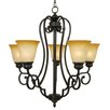 <strong>Yosemite Home Decor</strong> Royal Arches 5 Light Chandelier