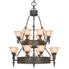 <strong>Yosemite Home Decor</strong> Isabella 16 Light Chandelier
