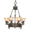 <strong>Yosemite Home Decor</strong> Isabella 8 Light Chandelier