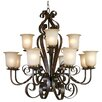 <strong>Yosemite Home Decor</strong> McKensi 12 Light Chandelier