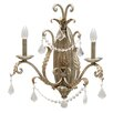 <strong>Yosemite Home Decor</strong> Swag 2 Light Wall Sconce