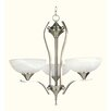 <strong>Yosemite Home Decor</strong> Glacier Point 3 Light Mini Chandelier