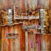 <strong>Revealed Artwork Burnished I Original Painting on Canvas</strong> by Yosemite Home Decor