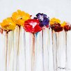 Yosemite Home Decor Revealed Artwork Jeweled Poppies II Original Painting on Canvas