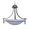 Yosemite Home Decor Sierra Point 3 Light Bowl Chandelier