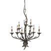 Vaxcel Monterey 9 Light Candle Chandelier