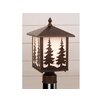 <strong>Yellowstone Tree 1 Light Outdoor Post Lantern</strong> by Vaxcel