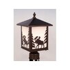 <strong>Vaxcel</strong> Yellowstone 1 Light Outdoor Post Lantern