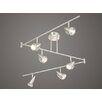 Vaxcel Swing 6 Light Track Bar Light