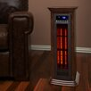 Lifesmart Life Pro Air Commander All Season Tower Features Ionizer Air System  Cooling Fan Air Oscillator & Infrared Heater w/Remote
